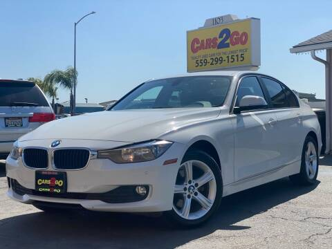 2015 BMW 3 Series for sale at Cars 2 Go in Clovis CA