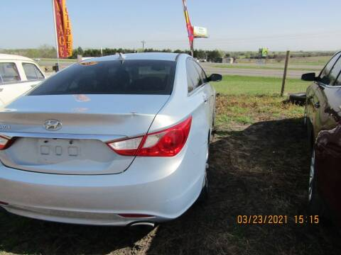 2012 Hyundai Sonata for sale at Hill Top Sales in Brenham TX