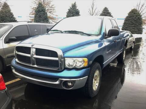 2004 Dodge Ram Pickup 1500 for sale at D & J AUTO EXCHANGE in Columbus IN