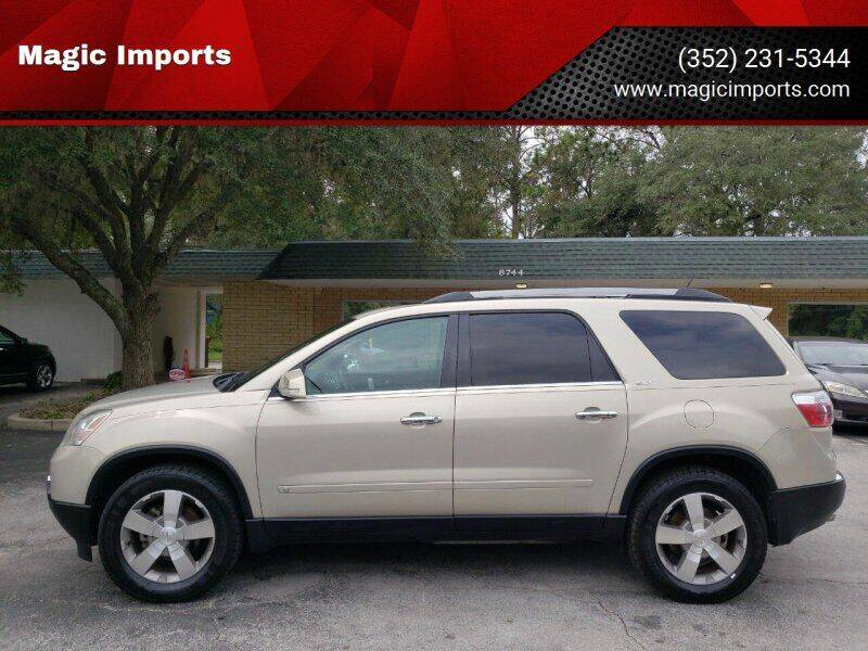 2010 GMC Acadia for sale at Magic Imports in Melrose FL