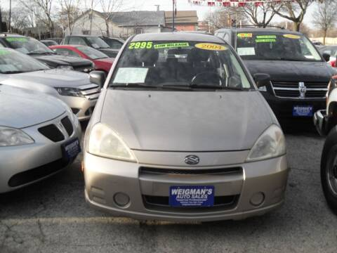 2004 Suzuki Aerio for sale at Weigman's Auto Sales in Milwaukee WI