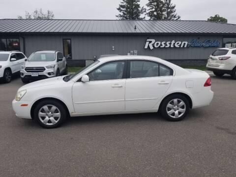 2007 Kia Optima for sale at ROSSTEN AUTO SALES in Grand Forks ND