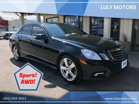 2011 Mercedes-Benz E-Class for sale at Luly Motors in Lincoln NE