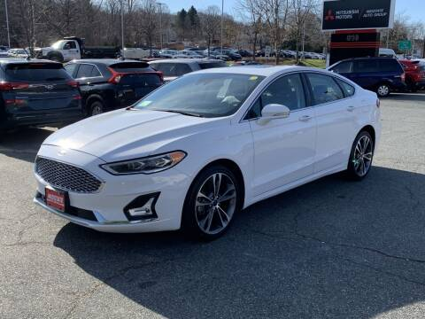 2019 Ford Fusion for sale at Midstate Auto Group in Auburn MA