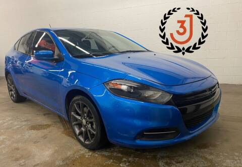 2016 Dodge Dart for sale at 3 J Auto Sales Inc in Arlington Heights IL