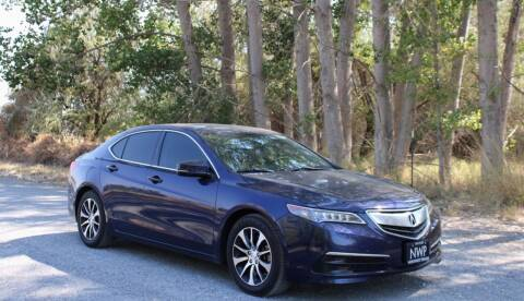 2017 Acura TLX for sale at Northwest Premier Auto Sales in West Richland WA