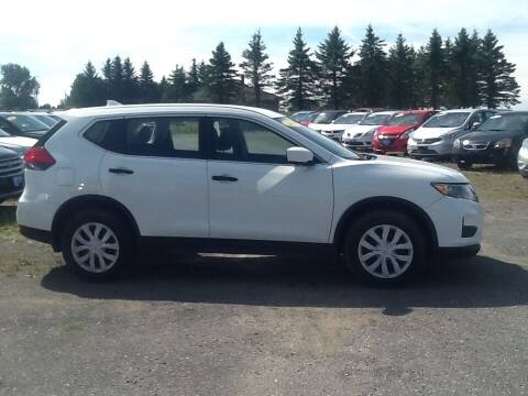 2017 Nissan Rogue for sale at Garys Sales & SVC in Caribou ME