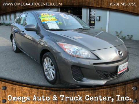 2013 Mazda MAZDA3 for sale at Omega Auto & Truck Center, Inc. in Salem MA