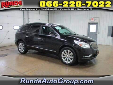 2017 Buick Enclave for sale at Runde PreDriven in Hazel Green WI