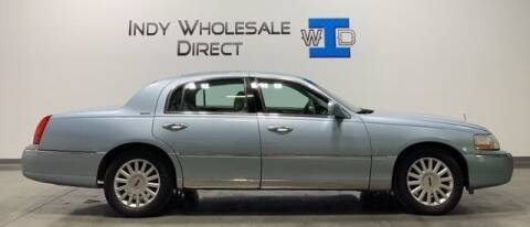 2005 Lincoln Town Car for sale at Indy Wholesale Direct in Carmel IN