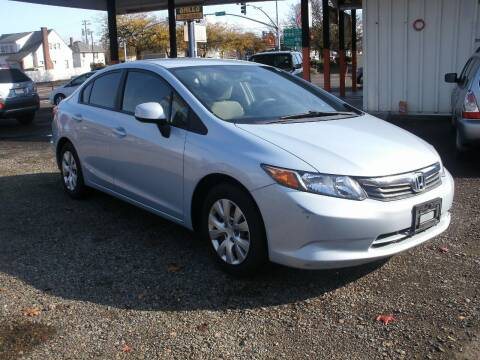 2012 Honda Civic for sale at D & M Auto Sales in Corvallis OR
