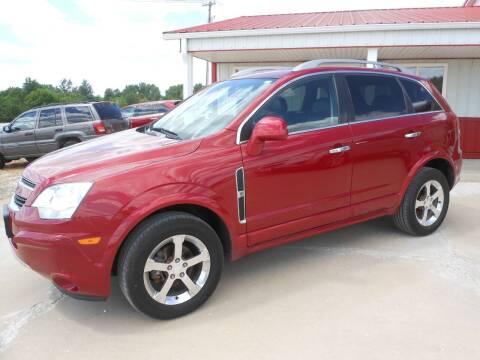 2012 Chevrolet Captiva Sport for sale at JUDD MOTORS INC in Lancaster MO