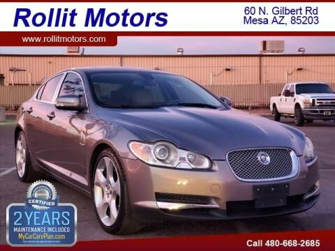 2009 Jaguar XF for sale at Rollit Motors in Mesa AZ