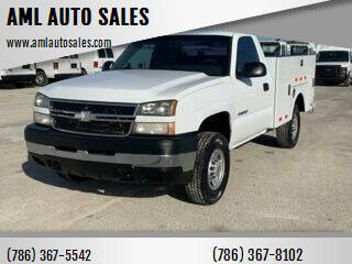 2007 Chevrolet Silverado 2500HD Classic for sale at AML AUTO SALES - Utility Trucks in Opa-Locka FL