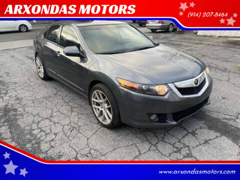 2010 Acura TSX for sale at ARXONDAS MOTORS in Yonkers NY