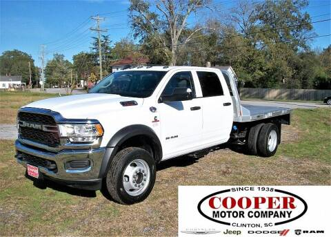 2020 RAM Ram Chassis 4500 for sale at Cooper Motor Company in Clinton SC