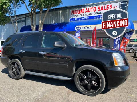 2010 GMC Yukon for sale at PORTLAND AUTO SALES LLC. in Portland OR
