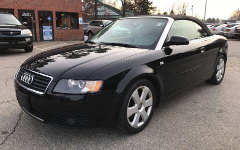 2006 Audi A4 for sale at Official Auto Sales in Plaistow NH