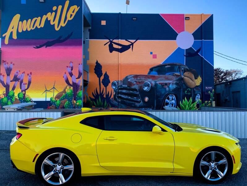2018 Chevrolet Camaro for sale at Mickdiesel Motorplex in Amarillo TX