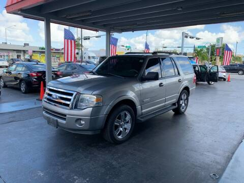 2008 Ford Expedition for sale at American Auto Sales in Hialeah FL