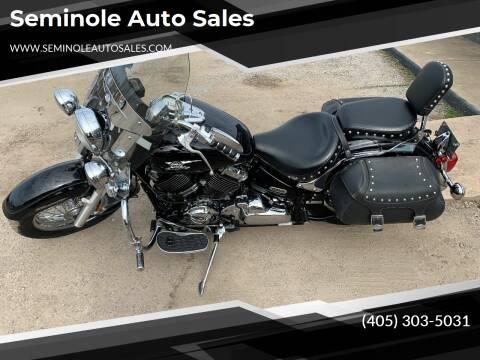 2005 Yamaha V-Star for sale at Seminole Auto Sales in Seminole OK