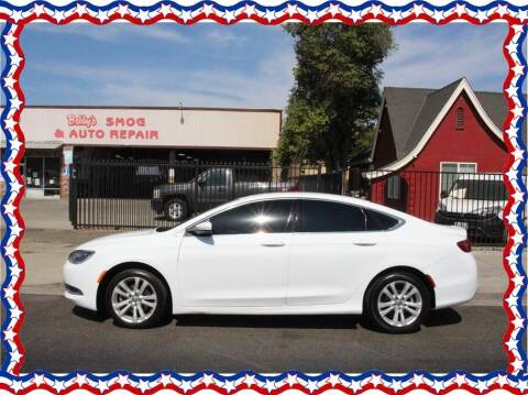 2016 Chrysler 200 for sale at American Auto Depot in Modesto CA
