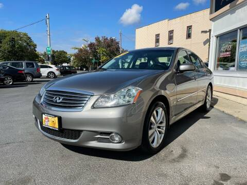 2010 Infiniti M35 for sale at ADAM AUTO AGENCY in Rensselaer NY