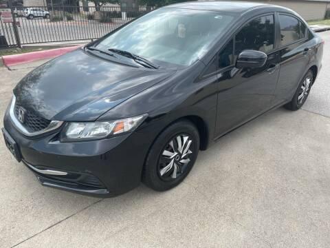 2014 Honda Civic for sale at Zoom ATX in Austin TX