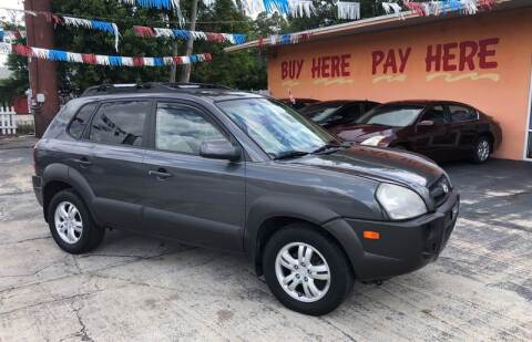 2007 Hyundai Tucson for sale at DREAM CARS in Stuart FL