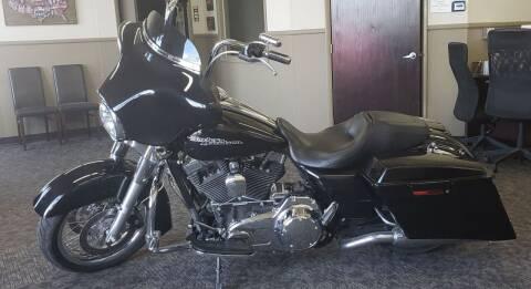 2013 Harley Davidson Streetglide for sale at HomeTown Motors in Gillette WY