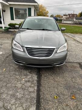 2013 Chrysler 200 for sale at SVS Motors in Mount Morris MI
