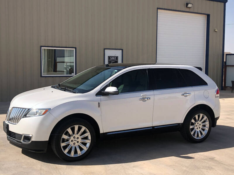 2012 Lincoln MKX for sale at TEXAS CAR PLACE in Lubbock TX