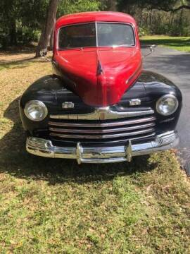 1946 Ford Deluxe for sale at Classic Car Deals in Cadillac MI