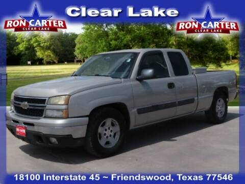 2007 Chevrolet Silverado 1500 Classic for sale at Ron Carter  Clear Lake Used Cars in Houston TX
