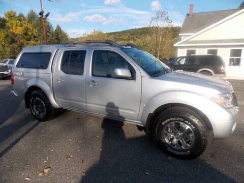 2016 Nissan Frontier for sale at Bachettis Auto Sales in Sheffield MA