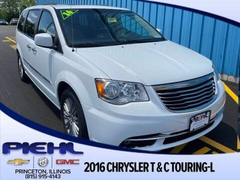 2016 Chrysler Town and Country for sale at Piehl Motors - PIEHL Chevrolet Buick Cadillac in Princeton IL