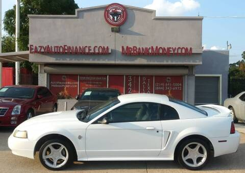 1999 Ford Mustang for sale at Eazy Auto Finance in Dallas TX