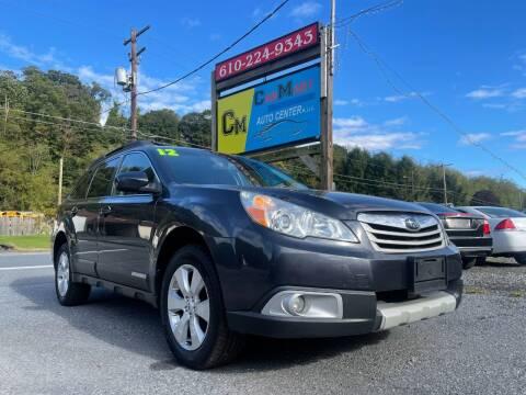 2012 Subaru Outback for sale at Walnutport Carmart in Walnutport PA