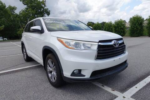 2014 Toyota Highlander for sale at Womack Auto Sales in Statesboro GA