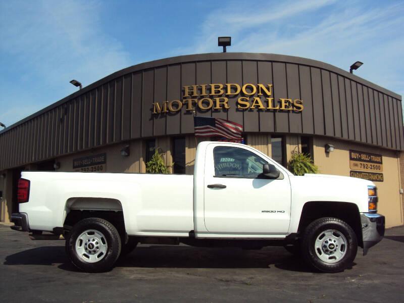 2016 Chevrolet Silverado 2500HD for sale at Hibdon Motor Sales in Clinton Township MI