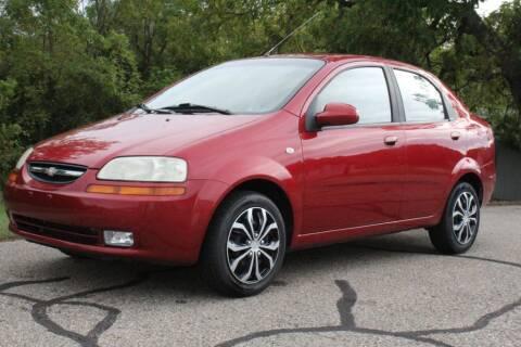 2006 Chevrolet Aveo for sale at S & L Auto Sales in Grand Rapids MI