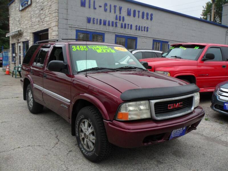 2001 GMC Jimmy for sale at Weigman's Auto Sales in Milwaukee WI