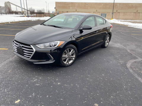2017 Hyundai Elantra for sale at Triangle Auto Sales in Elgin IL
