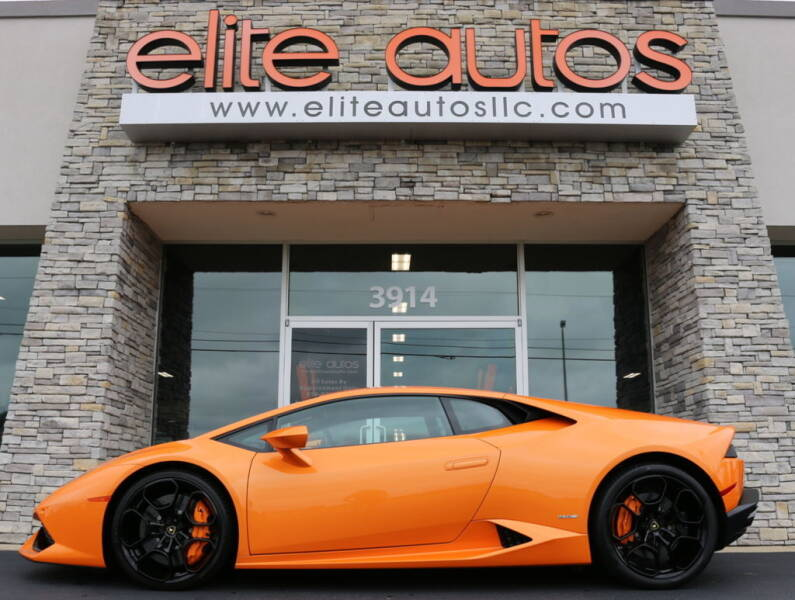 2015 Lamborghini Huracan for sale at Elite Autos LLC in Jonesboro AR