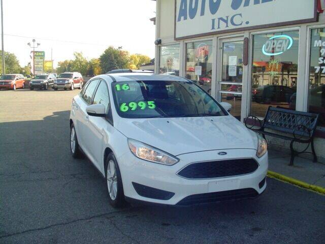 2016 Ford Focus for sale at G & L Auto Sales Inc in Roseville MI