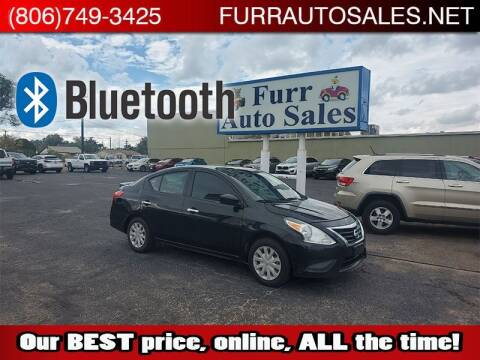 2018 Nissan Versa for sale at FURR AUTO SALES in Lubbock TX