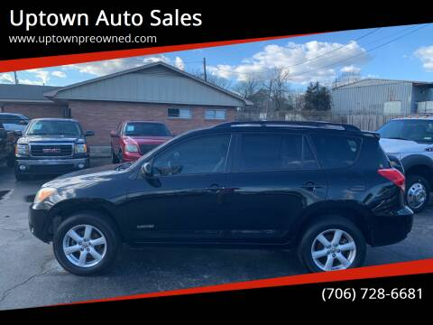 2008 Toyota RAV4 for sale at Uptown Auto Sales in Rome GA