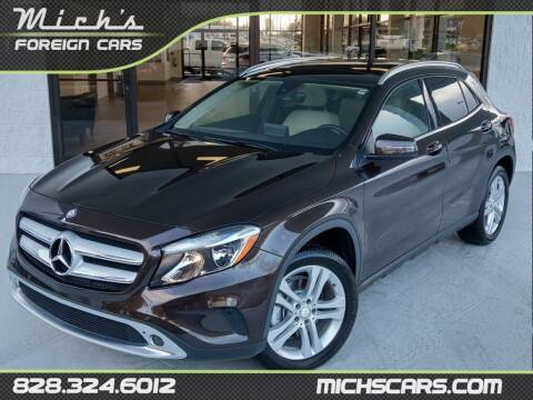 2017 Mercedes-Benz GLA for sale at Mich's Foreign Cars in Hickory NC