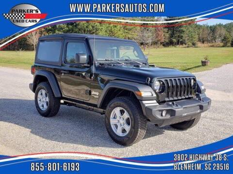 2020 Jeep Wrangler for sale at Parker's Used Cars in Blenheim SC