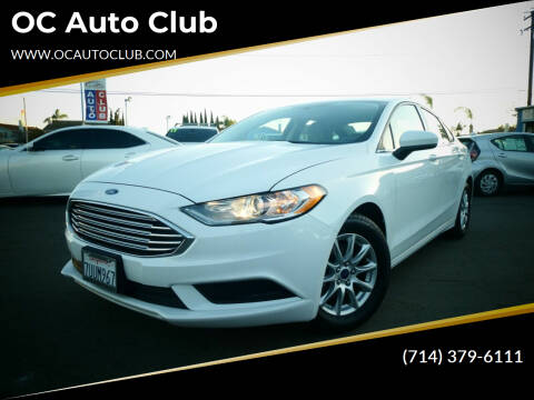 2017 Ford Fusion for sale at OC Auto Club in Midway City CA